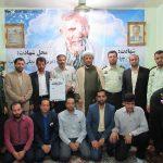 دیدار امام جمعه با خانواده شهدای مدافع حرم