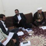 جلسه کارگروه مساجد شهرستان کارون با حضور امام جمعه