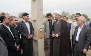 گزارش تصویری /بهربرداری از پروژه ساماندهی شبکه برق 19 روستای شهرستان کارون