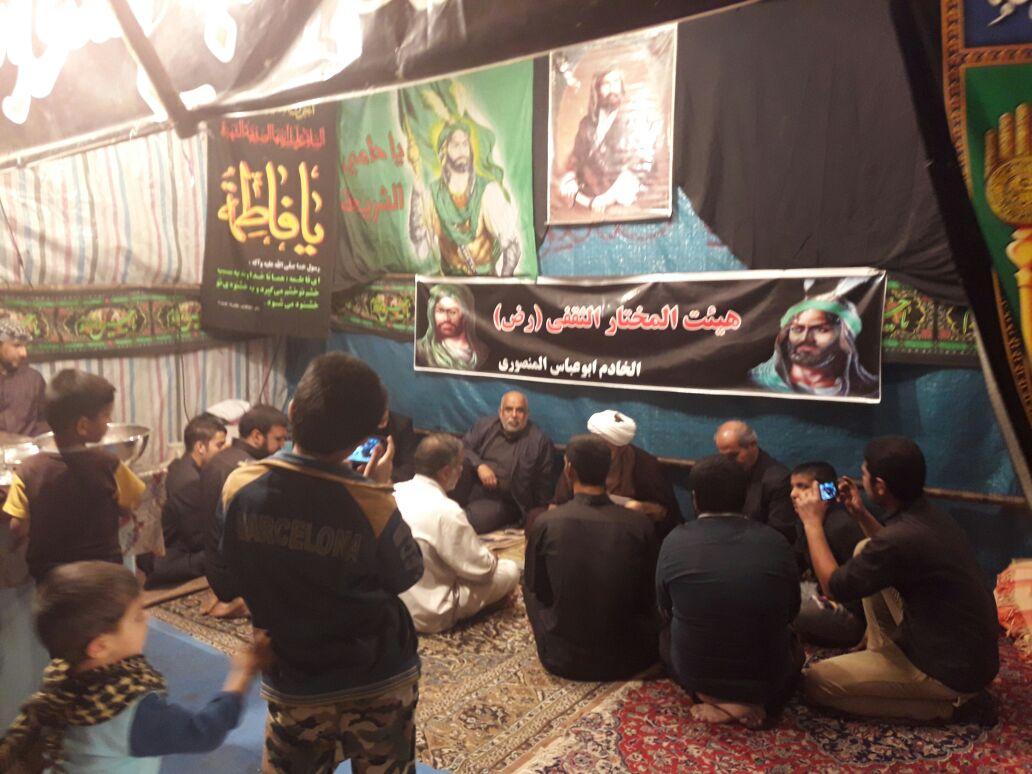 بازدید امام جمعه کارون از ایستگاه های صلواتی ایام فاطمیه
