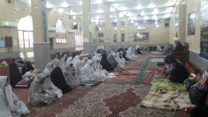 ازدید امام جمعه از معتکفین مساجد شهرستان کارون