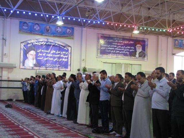 گزارش تصویری/نماز عید فطر در شهرستان کارون