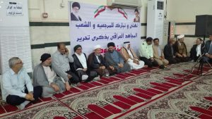 جشن آزاد سازی موصل عراق در شهرستان کارون