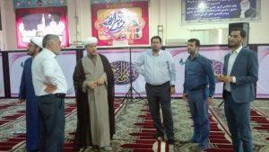 بازدید امام جمعه کارون از روند آماده سازی مکان هشتمین جشنواره بین المللی شعر رضوی