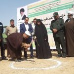 کلنگ زنی و آغاز عملیات ساخت قبرستان بقیع شهرستان کارون