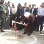 مراسم کلنگ زنی و آغاز عملیات اجرایی مدرسه حکیم فارابی روستای خضیریات