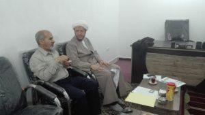 نشست امام جمعه کارون با مسئولین دفتر و ستاد نمازجمعه