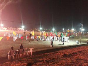 بازسازی واقعه غدیر در شهرستان کارون با حضور امام جمعه