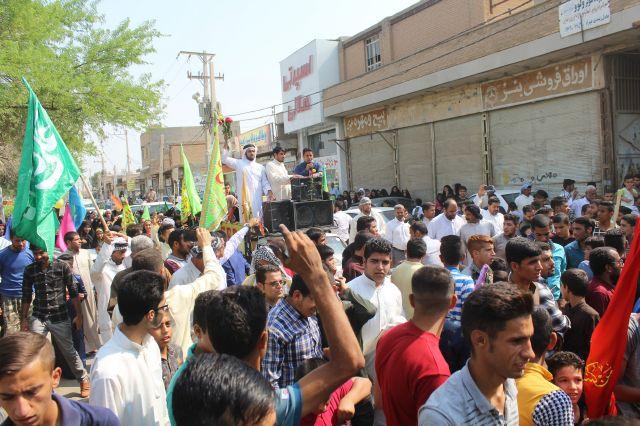 جشن بزرگ عید غدیر خم در کارون