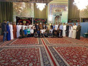 حضور امام جمعه در اوردوی زیادتی مشهد