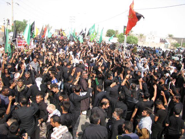 گزارش تصویری/مراسم تاسوعای حسینی در شهرستان کارون