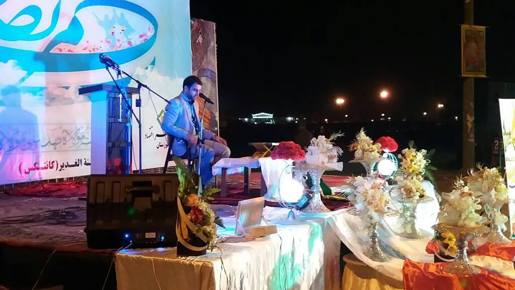 جشن دهه امامت و ولایت در کوی شهید جغفری شهر کوت عبدالله برگزار شد