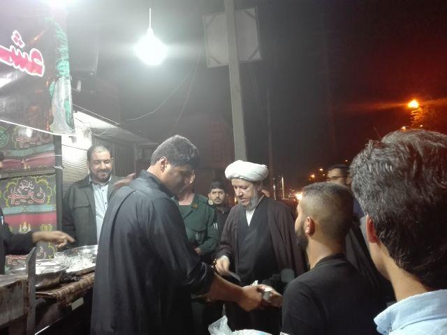 گزارش تصویری/بازدید امام جمعه کارون و مسئولین از مواکب شهرستان