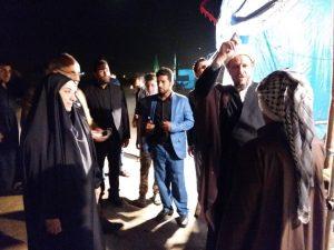 بازدید امام جمعه و مسئولین از مواکب و هیئت های مذهبی قلعه چنعان