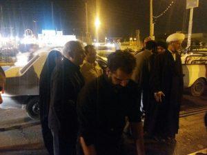 بازدید امام جمعه از ایستگاه های صلواتی شهرستان کارون