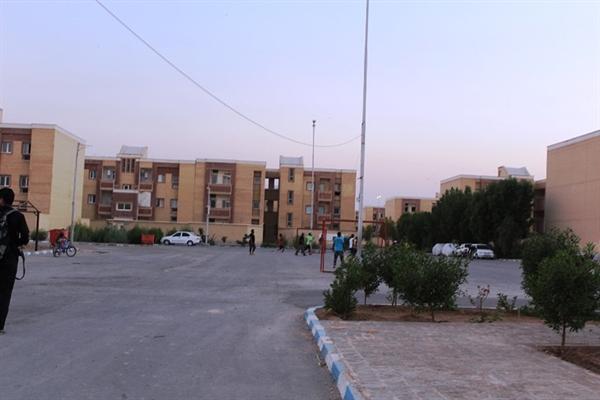 با حضور امام جمعه پروژه 750 واحدی مسکن ناجا درشیرین شهر شهرستان کارون افتتاح شد