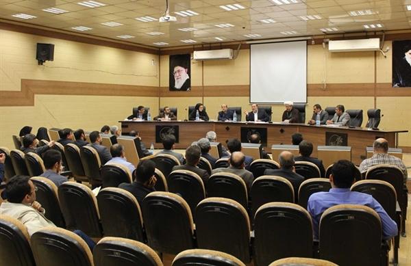 گزارش تصویری /برگزاری جلسه شورای اشتغال شهرستان کارون