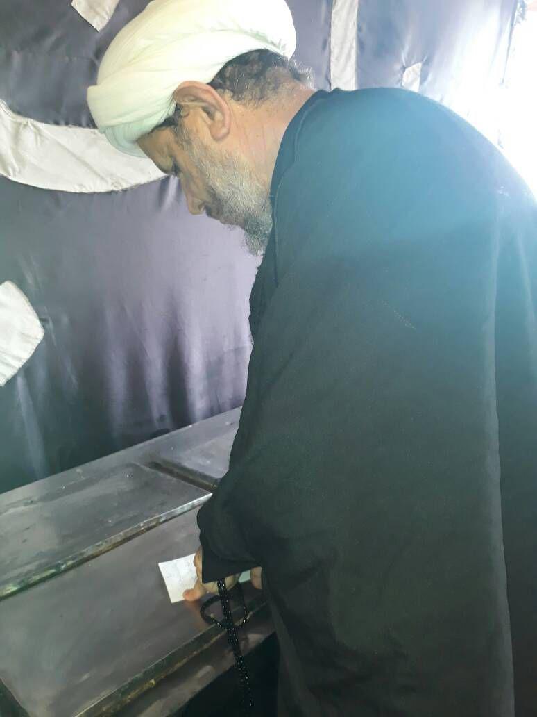 گزارش تصویری/حضور امام جمعه کارون در مراسم پیاده روی اربعین حسینی