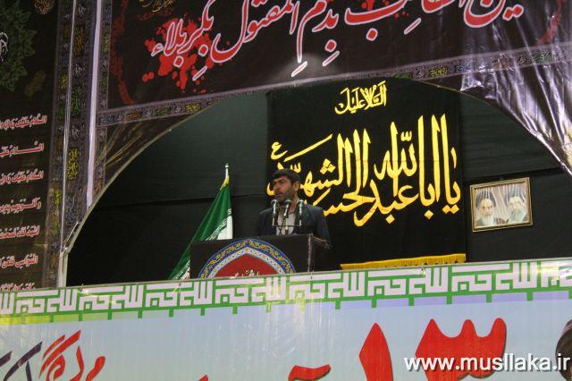 گزارش تصویری/راهپیمایی 13 آبان در شهرستان کارون