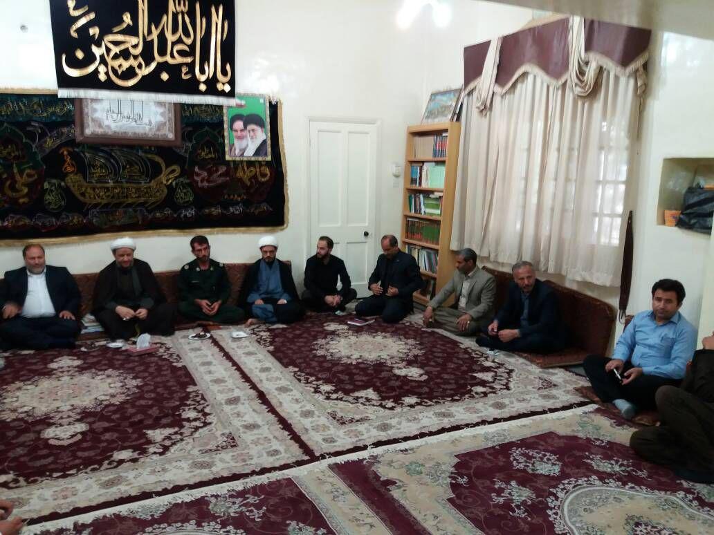 جلسه تقدیر از مواکب عاشوار و اربعین حسینی شهرستان کارون