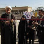 گزارش تصویری/افتتاح کتابخانه پژوهشسرای خوارزمی شهرستان کارون