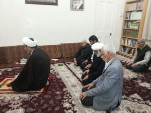 دیدار رئیس آموزش و پرورش کارون با امام جمعه