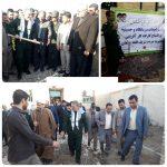 گزارش تصویری/کلنگ درمانگاه قلعه چنعان به زمین زده شد