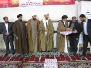 اهدای جوایز به شرکت کنندگان در نماز جمعه کارون به مناسبت امامت امام زمان(عج)
