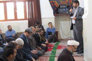 نماز وحدت ادارات برگزار شد.