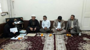 دیدار نماینده مردم اهواز و کارون در مجلس شورای اسلامی با امام جمعه کارون