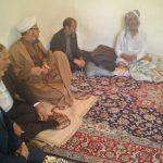 گزارش تصویری/بازدیدامام جمعه کارون از وضعیت معیشت نیازمندان شهرستان