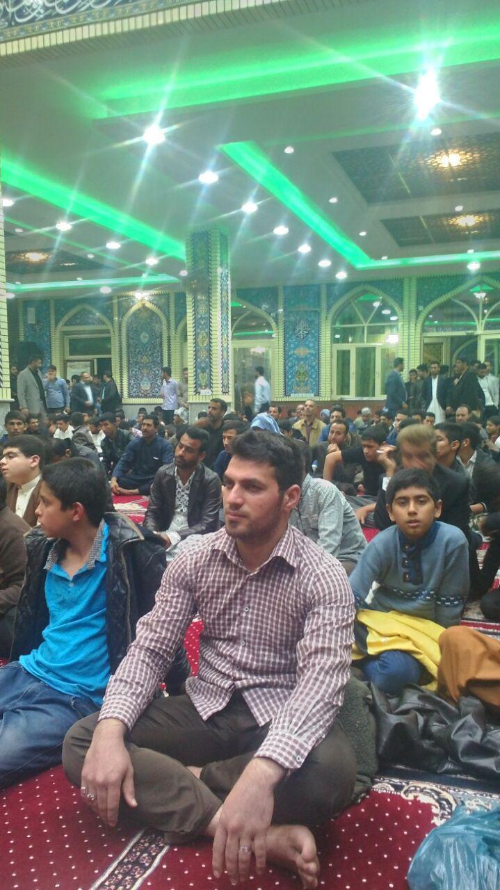 گزارش تصویری/جشن ولادت پیامبر اکرم (ص)و امام جعفر صادق (ع) در مسجد الشهدا