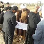 بازدید امام جمعه و فرماندار کارون از مراحل پاياني اجرای فاز دوم مجتمع آبرسانی چمیان