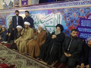 مراسم تشیع بزرگ خاندان طایفه حزباوی با حضور آیت الله جزایری