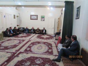 جلسه نخبگان قلعه چنعان با امام جمعه کارون