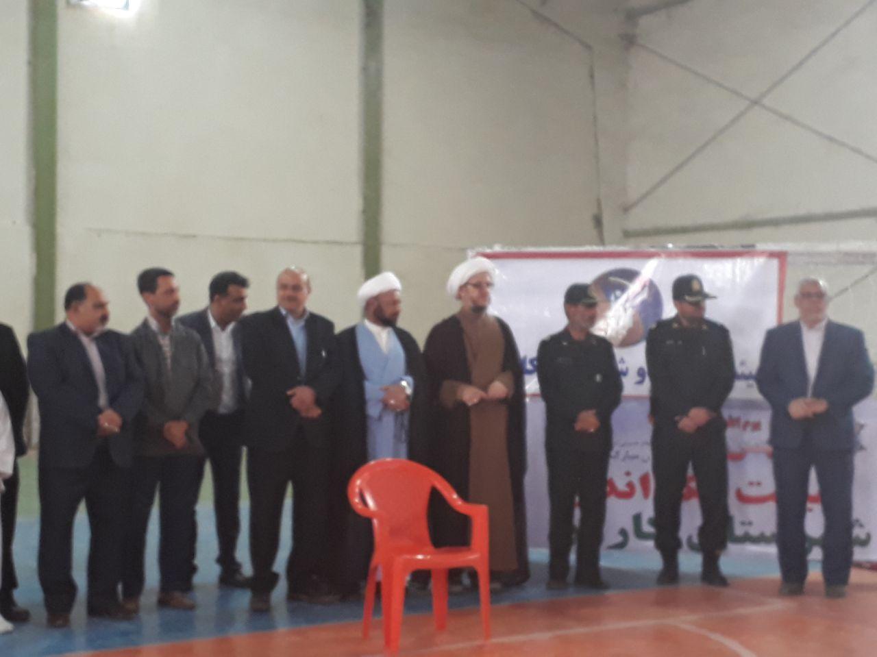 تقدیر امام جمعه کارون از تکوندوکاران