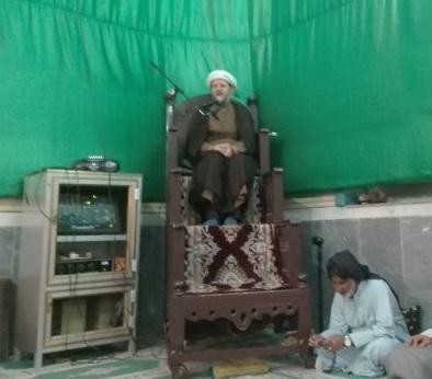 مراسم عزاداری حضرت فاطمه زهرا (س) با حضور امام جمعه کارون در درویش آباد برگزار شد.