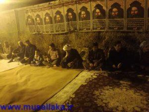مراسم سوگواری شهادت حضرت فاطمه(س) در دفتر امام جمعه کارون برگزار شد