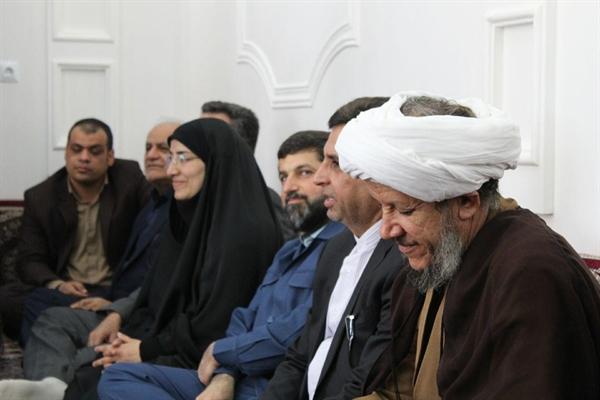 افتتاح شبکه آبرسانی به روستای ام البنین شهرستان کارون