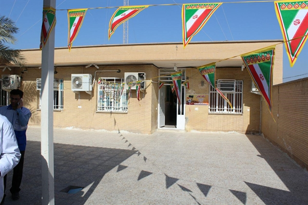 افتتاح مدرسه سه کلاسه روستای مبارکه سه شهرستان کارون