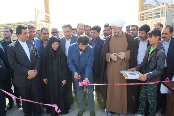 گزارش تصویری/افتتاح هنرستان ابوناگه بخش مرکزی شهرستان کارون