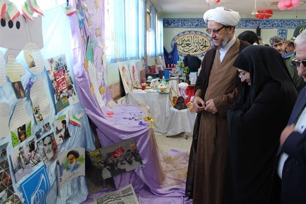 گزارش تصویری/افتتاح نمایشگاه دست آوردهای انقلاب