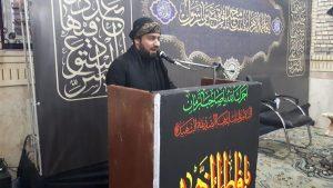 گزارش تصویری/مراسم عزاداری حضرت فاطمه زهرا (س) با حضور امام جمعه کارون در اسلام آباد
