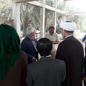 بازدید امام جمعه کارون از مجتمع فرهنگی شهید خانزاده