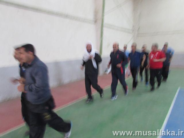 گزارش تصویری/حضور امام جمعه کارون در بین ورزشکاران