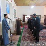گزارش تصویری/آخرین نماز وحدت ادارات در سال 96 برگزار شد