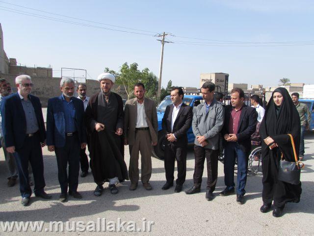 اهدای هفت جهیزیه به نو عروسان تحت پوشش کمیته امداد امام خمینی(ره) کارون
