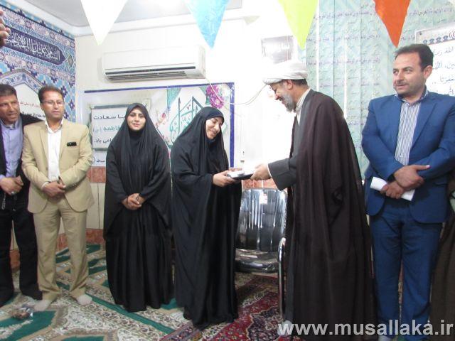گزارش تصویری/حضور امام جمعه کارون درجشن میلاد حضرت زهرا،شهرداری کوت عبدالله
