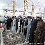 گزارش تصویری/حضور امام جمعه کارون در مراسم درگذشت مادرشهید عبدالرضا باوی