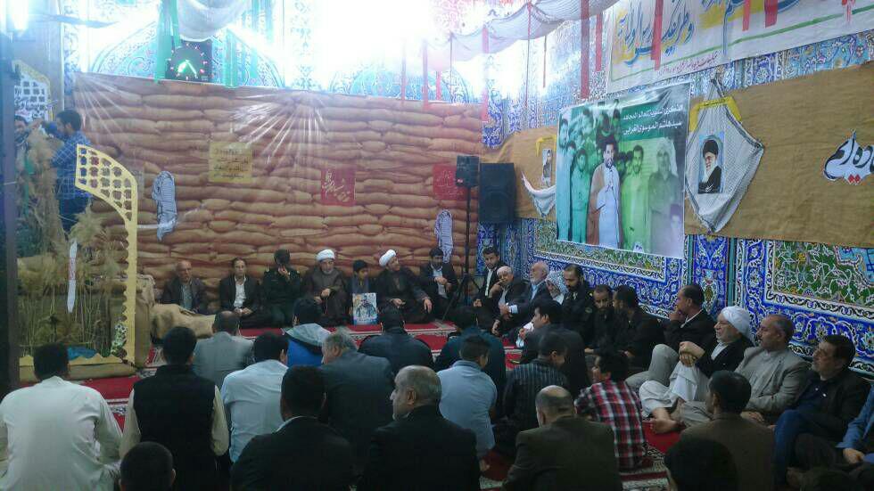 گزارش تصویری/بیستمین یادواره شهدای مسجد خدادادی و شهدای مدافع حرم شهرستان کارون